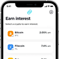 Crypto staking and interest